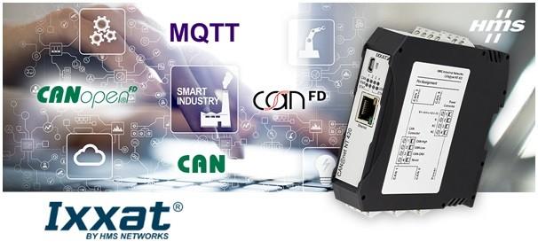 IXXAT CAN@net NT, gateway da CAN a Cloud