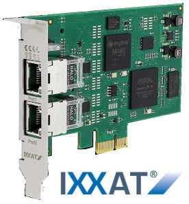 IXXAT INpact per comunicare con qualsiasi protocollo industrial Ethernet