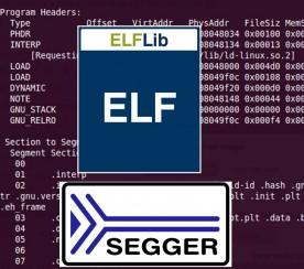 Con ELFLib di Segger i file .elf non hanno più segreti