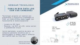 Live Webinar - CAN/LIN Bus Data Log con CSS CANedge2