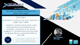 Live Webinar - Tecniche di debug avanzato ARM® Keil® MDK