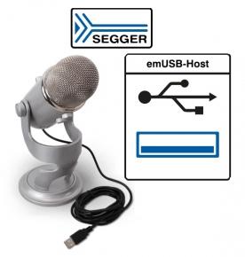 Segger amplia emUSB-Host con il supporto audio