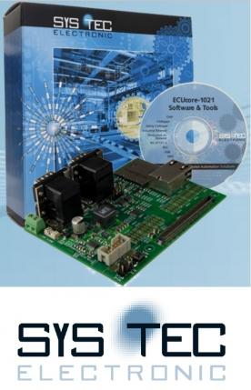 Subito operativi con il kit di sviluppo ECUcore-1021 di SYS TEC