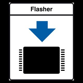 SEGGER Flasher 5/ST7