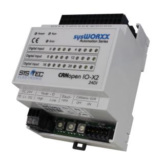 Systec CANopen IO-X2, 24DI