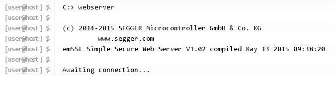 Serving Webpages with emSSL