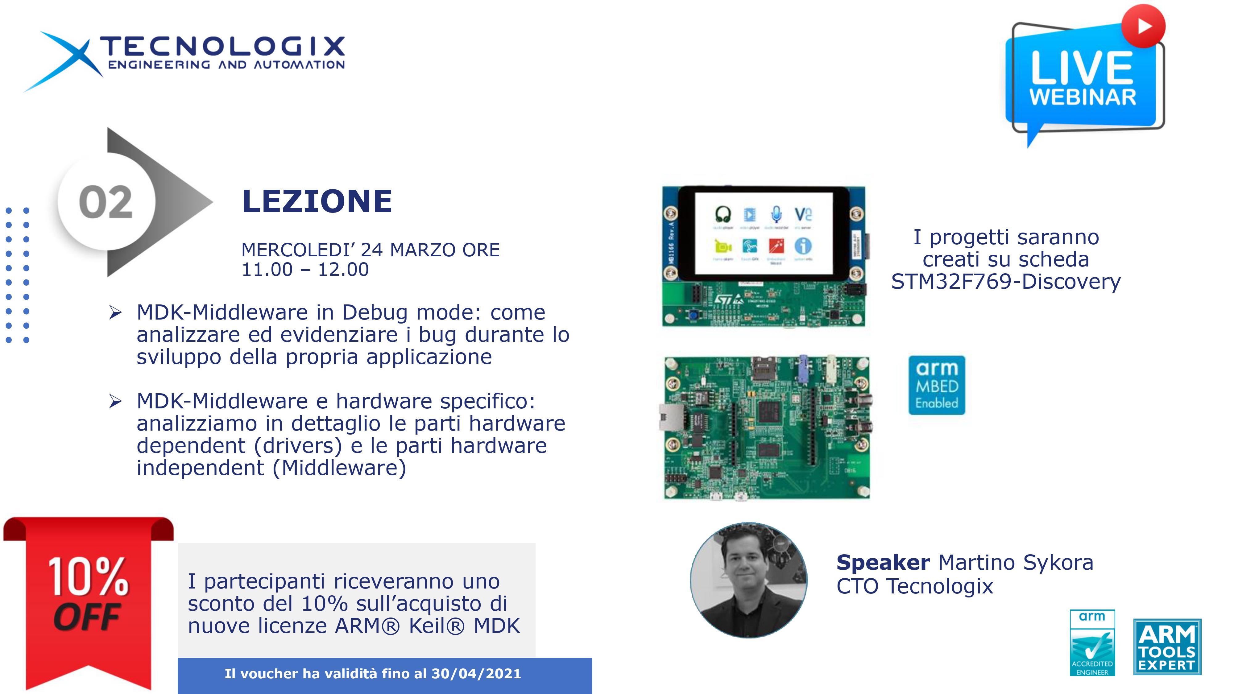 Introduzione a MDK-Middleware