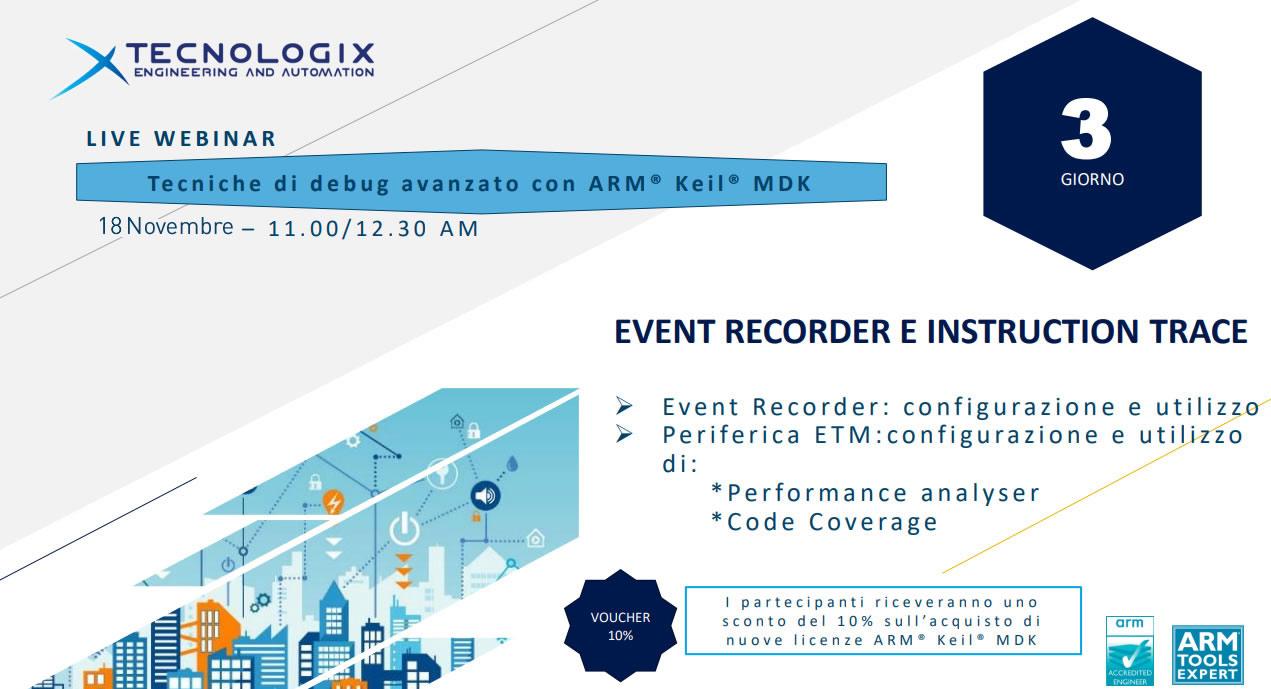 EVENT RECORDER E INSTRUCTION TRACE